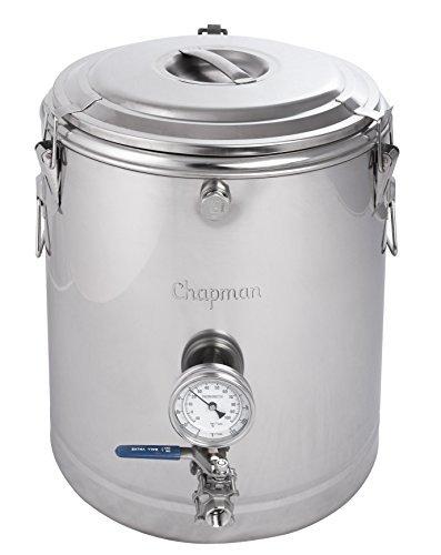 Chapman 20 Gallon ThermoBarrel Stainless Steel Mash Tun