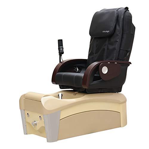 Nova Pipeless Spa Pedicure Chair - Magnetic Jet - Shiatsu Massage ()
