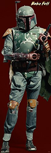 Star Wars - Door Movie Poster (Boba Fett) (Size: 21 inches x 62 inches)