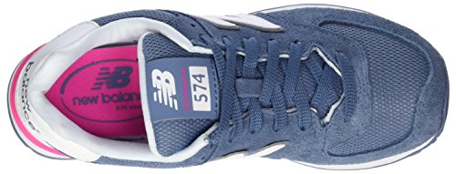 blue 574 Azul Mujer Para New Suede Balance Zapatillas xUPCwwq7a