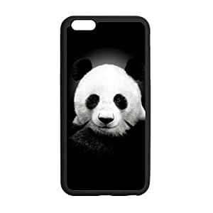 Onshop Custom Cute Panda Phone Case Laser Technology for iPhone 6 Plus by ruishername