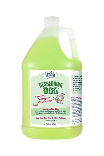 Deshedding Dog Pet Products Bad Hair Day Dog Shampoo, 1-Gallon