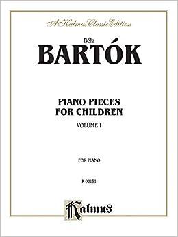 Piano Solos, Volume I: 1 (Kalmus Edition)