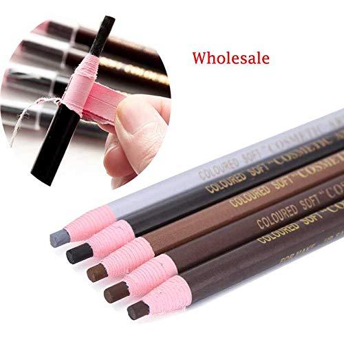 30Pcs Waterproof Paint Eyebrow Pencil Kit Makeup Eye Liner Brow Pencil Pen Long Lasting Eyebrow Enhancer Women Makeup Tool Each for - Eye Paints Cosmetics Bloom