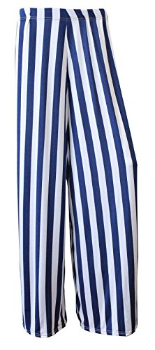 Funky Fashion Shop - Pantalón - para mujer Stripe Blue