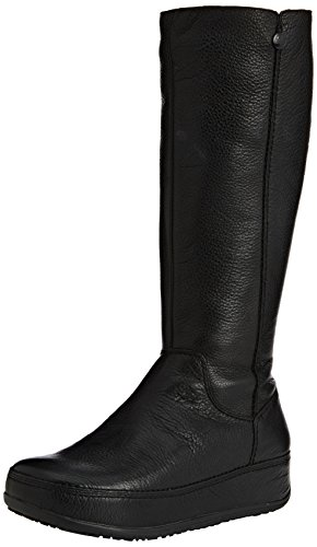 FitFlopSuperboot (Leather) - Botas mujer negro - Noir (all Black)