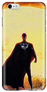 Stylizedd Apple iPhone 6 Plus Premium Slim Snap case cover Gloss Finish - Superman I6P-S-248