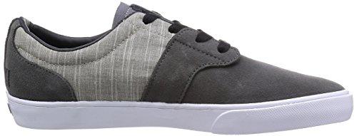 FALLEN Skateboard Shoes CHIEF XI ASH GRAY/CEMENT GRAY THOMAS Sz 10