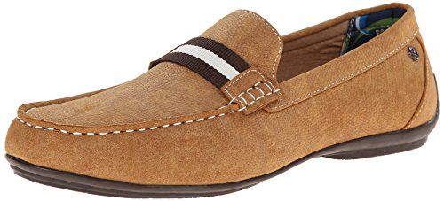 Stacy Adams Mens Pepi Slip-on Mocassin Cognac