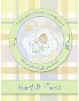 Precious Moments 'Baby Moments' Thank You Notes w/ Env. (8ct) ()
