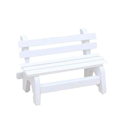 Superb Amazon Com Ameesi Miniature Chair Mini Bench Garden Pdpeps Interior Chair Design Pdpepsorg