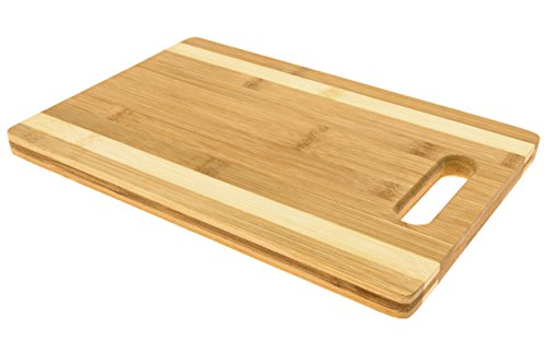 Blue Leaf Bamboo Cutting Board (12 inch  - Medium Tempered Glass Cutting Board Shopping Results
