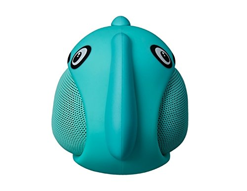 Elite Bluetooth Portable Wireless Speaker- Blue Dog