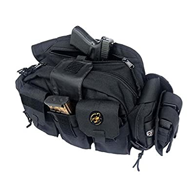 Black Scorpion Outdoor Gear Punisher Response Bag,Black BG02-0222-02BK by Black Scorpion Outdoor Gear
