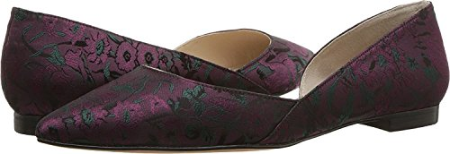 Marc Fisher Femmes Sunny4 Ballerines Burgundy Fabric