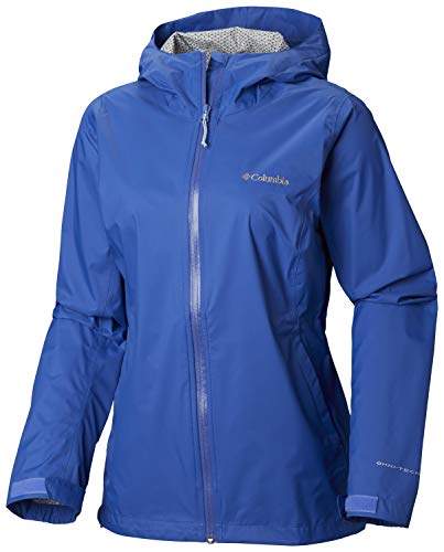 Columbia Women's EvaPOURation Jacket, Arctic Blue,Small