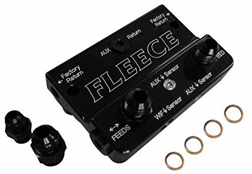 Fleece Performance Engineering FPE-FFD-RF-4G Fuel Distribution Block (10-12 Dodge 6.7L Cummins 4th Gen)