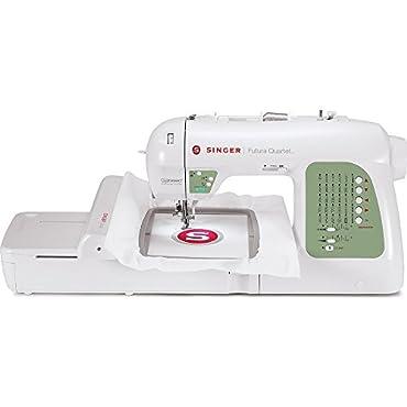 Singer SEQS-6000 Futura Quartet Sewing and Embroidery Machine