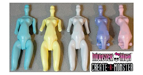 Monster High Create A Monster Design Lab 5 CAM Fashion Doll TORSO Body Parts Set ♥ Top Selling (Create A Monster High Character)