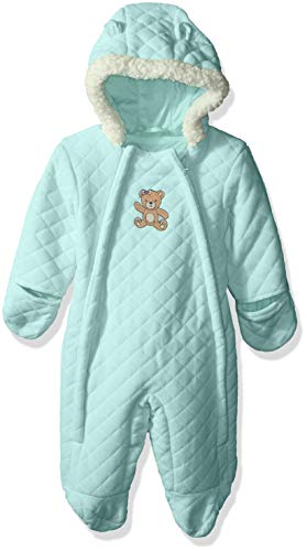 Wippette Baby Girls Quilted Bear Pram