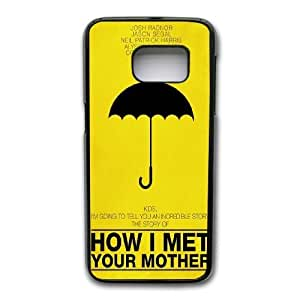 Generic Fashion Hard Back Case Cover Fit for Samsung Galaxy S7 Cell Phone Case black How I Met Your Mother with Free Tempered Glass Screen Protector EUI-8469717