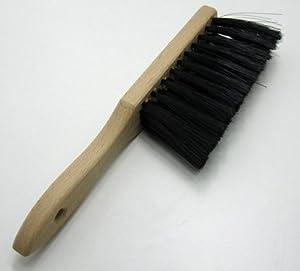 Handfeger aus Holz mit Kunststoff Borsten weich, Hand Feger Besen, Handbesen...