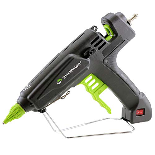 (PRO8000A 180 Watt Quick Heating Professional Heavy Duty Hot Glue Gun - Uses full size, 7/16