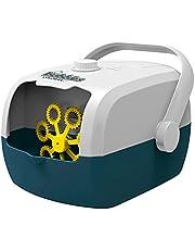 Goolfly V08 آلة فقاعات للأطفال حقيبة شكل الكهربائية منفاخ فقاعة USB قابلة لإعادة الشحن التلقائي لعب للأطفال في الهواء الطلق الأنشطة الصيف اللعب
