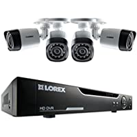 Lorex LHV10041TC4 4-Channel 1 TB Cloud Connect with 4 x 720p HD Cameras (Black)