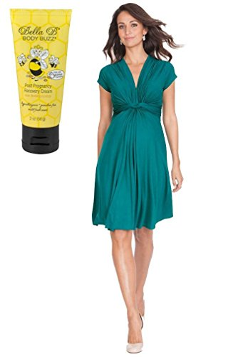 Seraphine Bundle 2item Jolene Maternity Dress Short Sleeve Pea 8 + - Maternity Kate Middleton