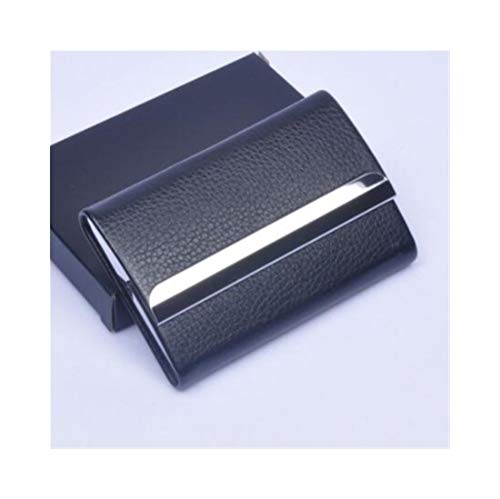 Cigarette Box, Ultra-Thin Stainless Steel Veneer Cigarette Case Flip Magnet Cigarette Holder Business Card Holder, Highlighting The Man's True Color, Gold (7 Cigarettes)