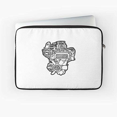 Ae86 Corolla Sprinter 4Age Engine Laptop Sleeve - The Most Meaningful Gift for Family and Friends.