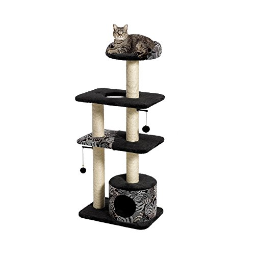 41COn9ERhEL - MidWest Feline Nuvo Cat Furniture; Durable Cat Trees & Cat Scratching Posts
