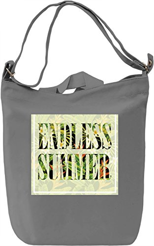 Endless Summer Borsa Giornaliera Canvas Canvas Day Bag| 100% Premium Cotton Canvas| DTG Printing|