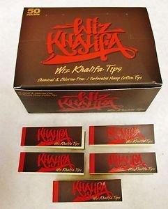Wiz Khalifa Raw Perforate Hemp Cotton Tips Box of 50