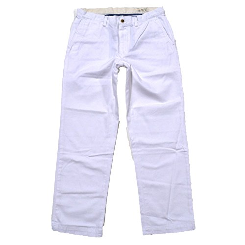 Polo Ralph Lauren Mens Classic Chino Pant (White, - Lauren Mens Jeans Ralph White