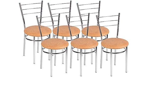 Impor Neuer Marko Drako - Juego de sillas (6 Unidades): Amazon.es: Juguetes y juegos