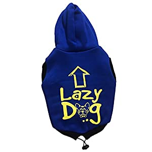 Pupkart Dog Hoodie Lazy Dog For Medium And Large Dogs S24