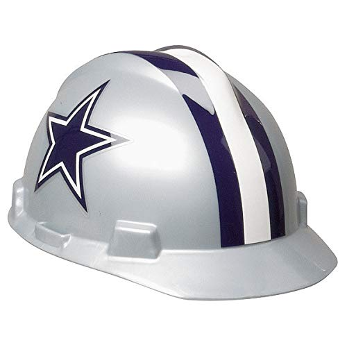 MSA 818392 NFL Hard Hat, Dallas Cowboys, Gray/Blue by MSA
