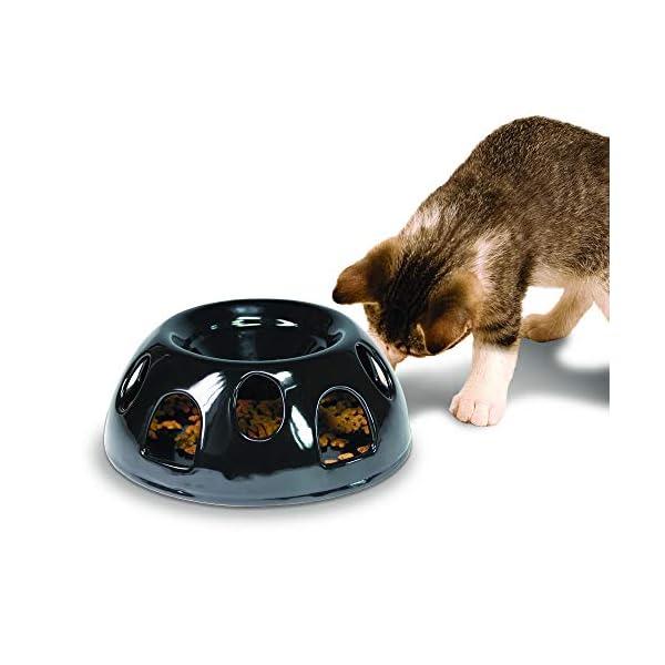 SmartCat Tiger Diner Ceramic Cat Feeder 1
