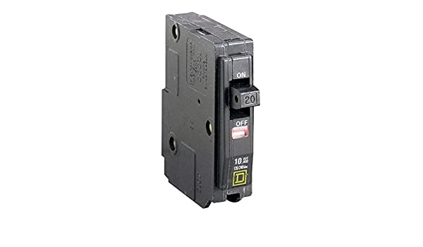 SQUARE D QO320 20 AMP 3 POLE 240 VOLT WITH FACE INDICATOR