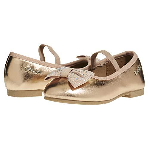 Pictures of bebe Toddler Girls Ballet Flats Size 9 Rose Gold 9 M US Toddler 2