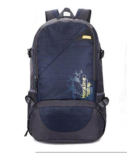 Bulage Bolsas Los Hombres Las Mochilas Los Hombros Elegante Cómodo De Alta Capacidad Ocio Turismo Deportes Al Aire Libre Viajes DarkBlue