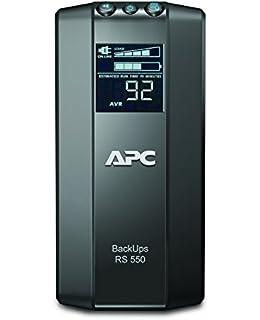 apc power-saving back-ups pro - br550gi - uninterruptible power supply  550va (