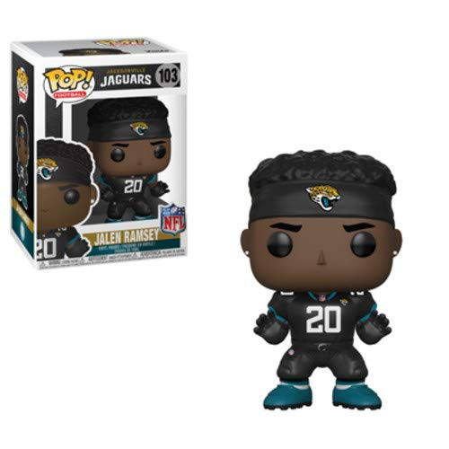 Jaguars Funko Pop NFL Jalen Ramsey Vinyl Figure
