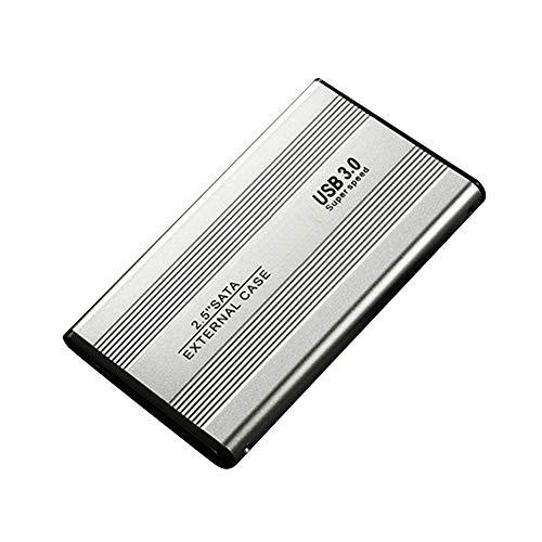 Hard Drive 2.5inch B3.0 SATA3.0 For PC External Desktop 500 1TB 2TB Laptop Storage Portable gh Speed Accessories Disk Metal Mobile(500GBSilver)