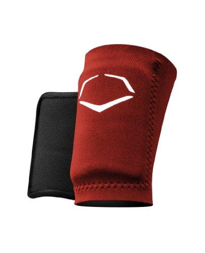 EvoShield Protective Baseball Wrist Guard,Maroon,X-Large
