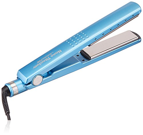 BaBylissPro Nano Titanium Titanium-Plated Straightening Iron, 1-1/4 Inches by BaBylissPRO