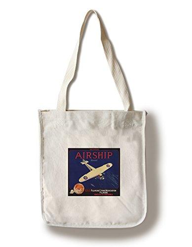 Lantern Press Airship Brand - Fillmore, California - Citrus Crate Label (100% Cotton Tote Bag - Reusable)