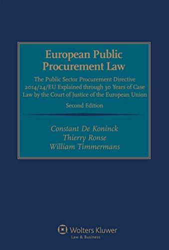 european-public-procurement-law-the-public-sector-procurement-directive-2014-24-eu-explained-through